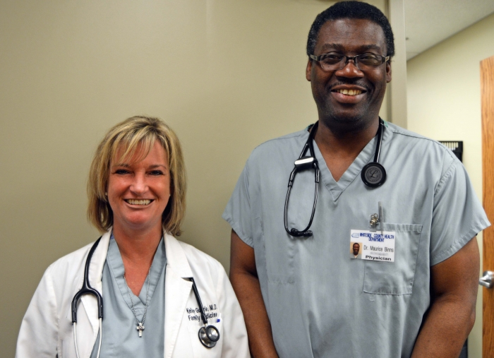 Dr. Guthrie and Dr. Binns